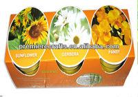 popular bio pot/hydroponics biodegradable flower pot for garden/planter pot