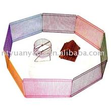 Colourful Hamster Enclosure hamster cage folding metal dog fence pet encloure