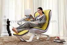 DEMNI Simple orange recliner lounge suite sofa