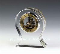 quartz analog digital crystal mechanical table clock