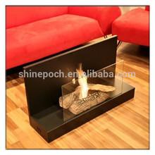 Indoor Glass Screen Bio Ethanol Fireplace