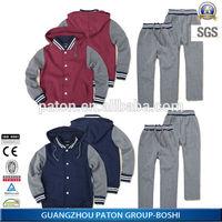 Hot Style Middle School Uniforms hooded wear,school cloths
