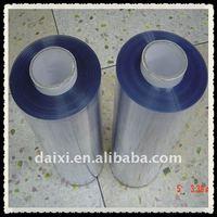 PP pet pvc rigid film rolls packing plastic
