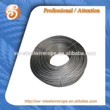Galvanized steel wire rope of sofi coils