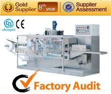 P: CD-200 automatic wet tissue making machine, baby wet wipe making machine
