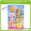 SLD-002 NEWEST 9 inch mermaid dolls toy for babies fashion design toys factory