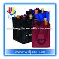 tela de la botella de vino bolsas