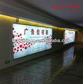 Exterior delgado slimline led publicidad de la caja ligera signos