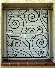 GYD-15WG122 2015 decorative wrought iron window grill