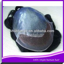 wholesale AAAAA stock human hair men toupee,natural toupee,hair piece toupee