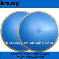 Boreway sintered continuous rim ceramic blade