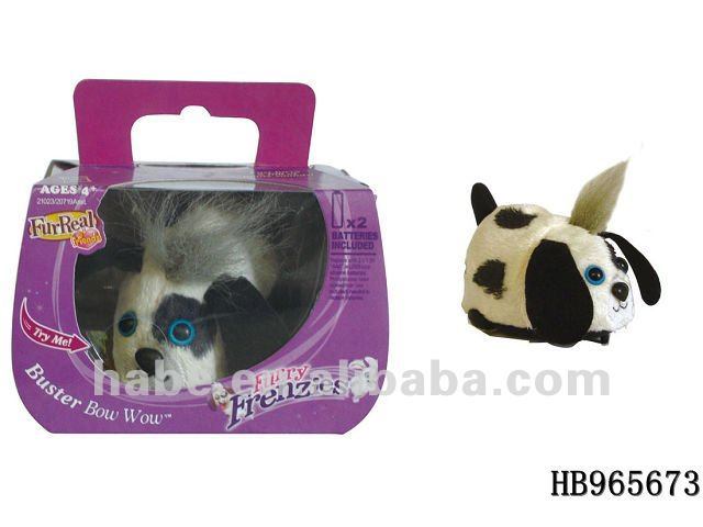 new electric plush dog toys, include battery