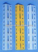 Steel Slotted Angle Iron powder coated