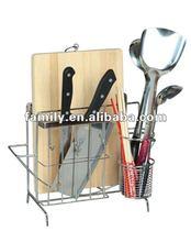 Kitchen cutting chopping boards rack