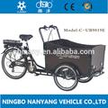 """2015 vendita calda tre ruote 20""""/24""""Accessori carico bici elettrica/bakfiet/cargobike ub9019e modello"""