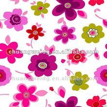 2012 New Fashion Flower Printed Fabric for Dress,Bikini