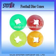 new design plastic sports soccer(football) disc cones/Agility Training cones