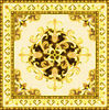 Gold flower ceramic floor tile porcelain carpet tile