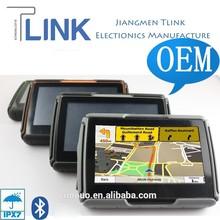 4.3 inch waterproof motorcycle car GPS navigation motorcycle for car and motorcycle W-40