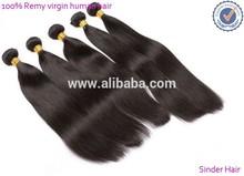 High quality human hair Indian/peruvian remy human hair 70 300g excellent sinder peruvian hair weaving