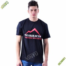 High quality 100% cotton men tshirt with OEM service from China