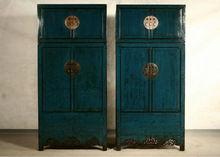 Chinese classic furniture,antique bedroom painting wardrobe