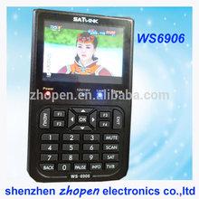 cheap DVB-S2 satlink ws-6906 digital satellite finder meter made in china