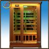 Factory Direct Red Cedar 2 person Indoor Far Infrared Sauna
