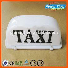 De color blanco 12 V llevó la muestra para taxi