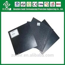 1.5mm new material pvc sheets black,smooth pvc sheets black