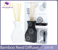 pet ceramic bottle perfumes and fragrances brand luxury reed diffuser gift set
