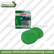 Hot Selling Microfiber wax applicator pads,wax applicator