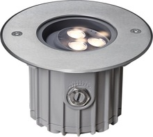 Beam angle adjustable inground light