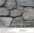 cultura artificial de pedra rocha wall decoração 24002