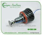 led car angel eyes 12W H8/E92 auto led lamp