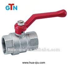 Female brass stem gate valve