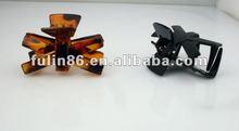 Mini fashion popular plastic hair clip/hair claw