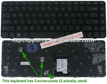 Genuine Notebook keyboard Laptop keyboards For HP Pavilion DM4 US Layout -- 597911-001