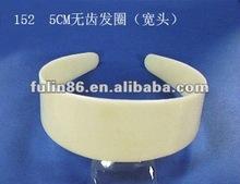 2013 Mini fashion white plastic hair band