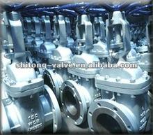 API non rising stem flange type gate valve PN16 20 DN250 200 API 600, BS1414, DIN3352
