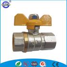 nickel plated 3 inch brass ball valve