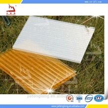 Polycarbonate hollow sheet transparent plastic roof
