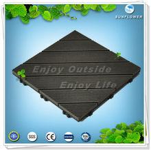 ENVIRONMENTAL-FRIENDLY! DELICATE APPEARANCE!2012 HOT SELL! waterproof outdoor wpc diy decking floor