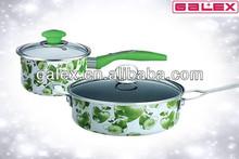 Enamel Carbon steel Pots and Pans bowl