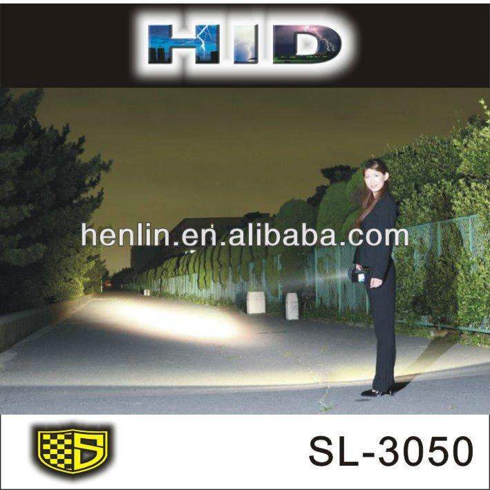 Fonctionnant sur batterie lumières led projecteur au xénon hid lumière d'inondation( sl- 3050)