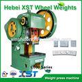 máquina para la producción de los pesos adhesivos