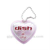 2015 inflatable cute heart design garment hang tags