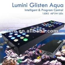 Lumini 100gallon aquarium fish bol led lights150W