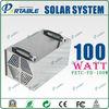 output DC12V/AC220V 100W solar panel system