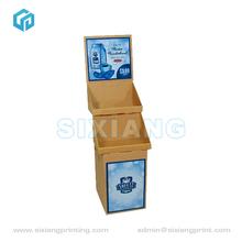 Commercial Book Floor Cardboard Display Shelf,Cardboard Shoes Display Rack